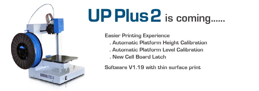 up plus 2-3D printer