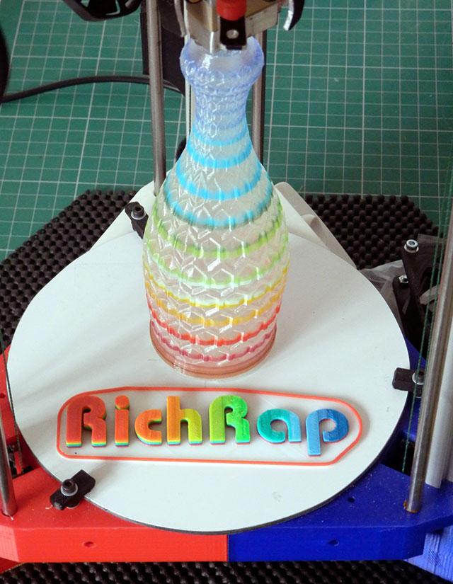 3DR_Rainbow_Hex_cut_vase_RichRap_s
