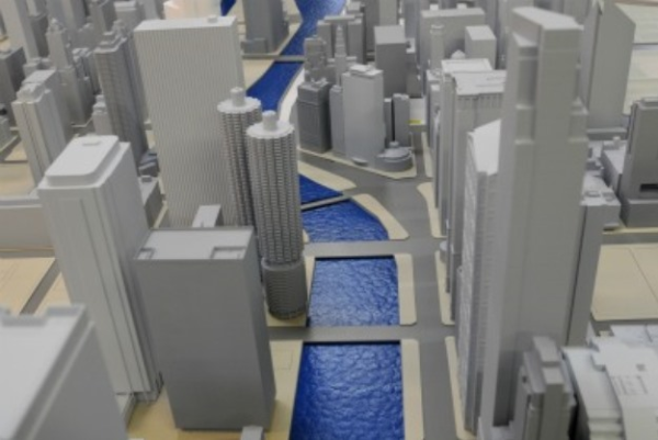 Chicago architect 39 s use 3d printing to make model city Making models for 3d printing