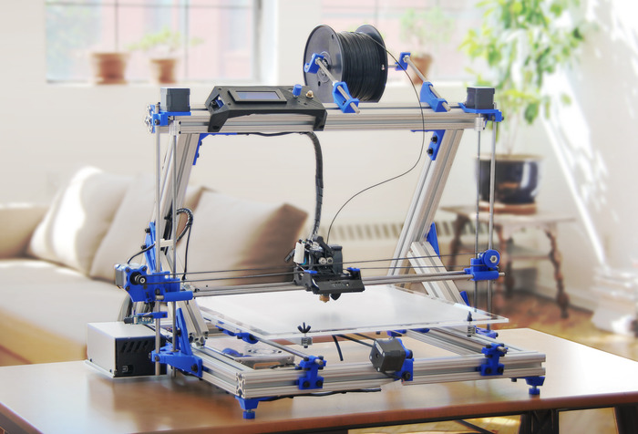 Gmax 3d printer prints big objects launches on for 3d printer build plans