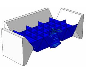 Topological Interlocking Structures. (Image of the U.S. Army Research Laboratory)