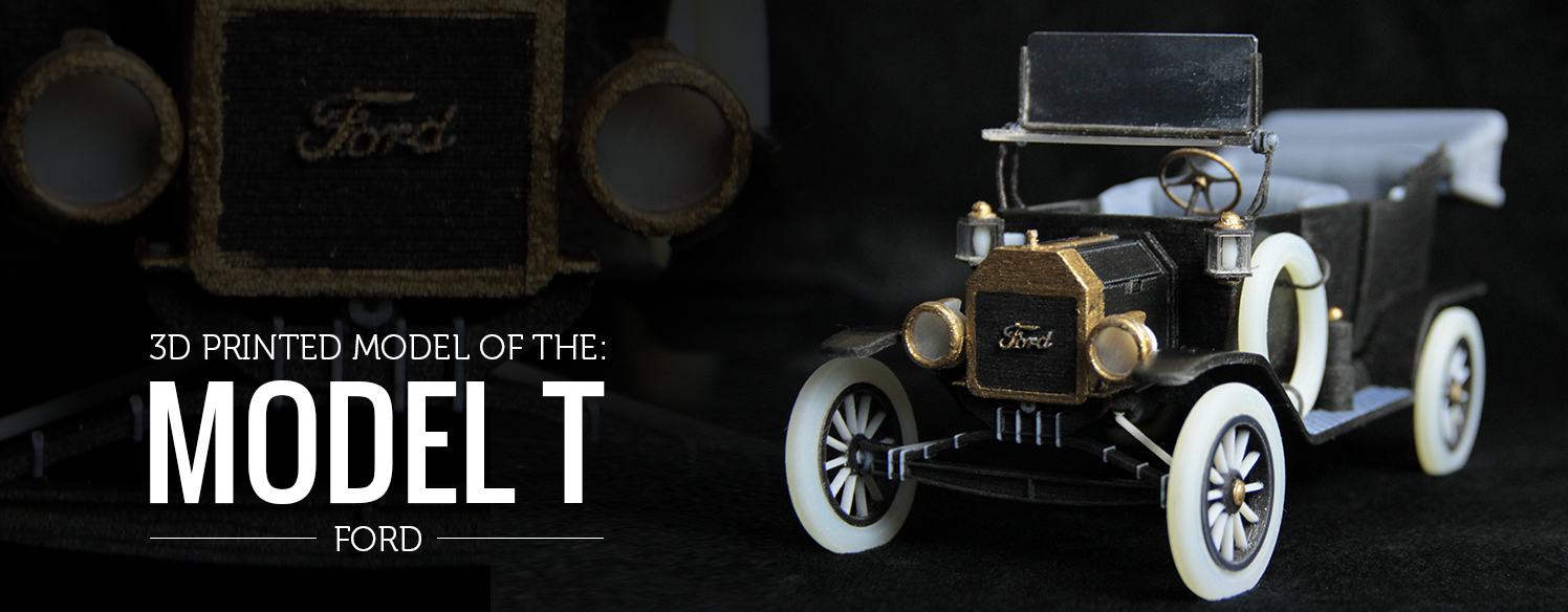 3d Printed Model T by Whiteclouds