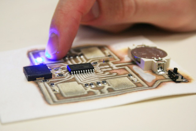 Cartesian Co circuit 3D printer 2