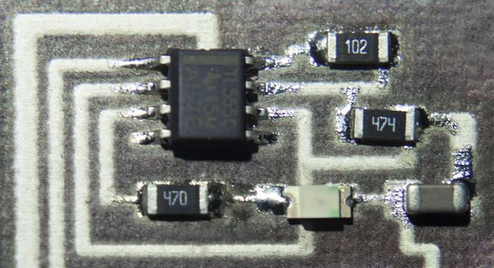 Cartesian Co circuit 3D printer 4