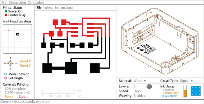 Cartesian Co circuit 3D printer 6
