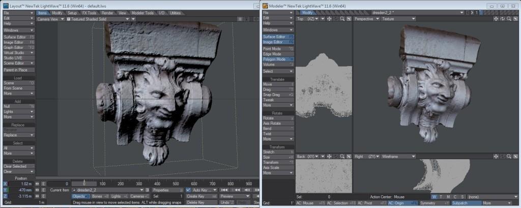 Cirri 2d to 3d scanning technology