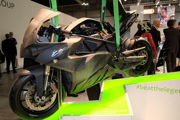Energica_Ego_prototype-3D Printed Superbike