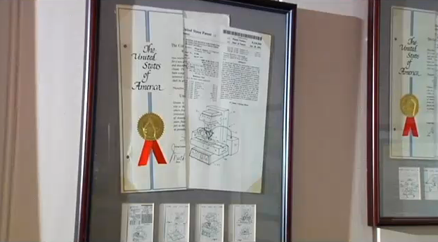 Greenville inventor holds patents for 3-D printers - FOX Carolina 2