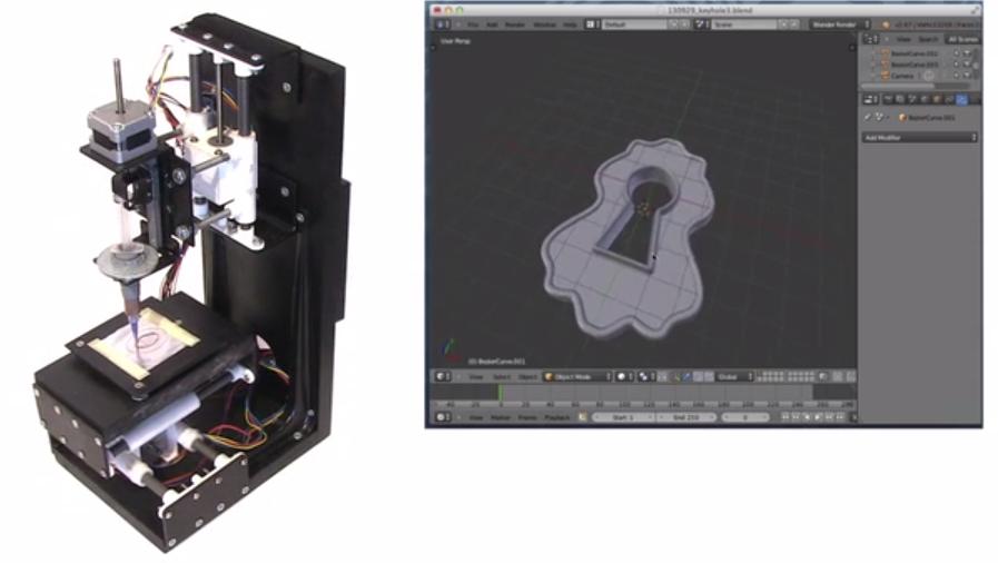 Mini Metal Maker Metal Clay 3D Printer 2