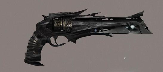 3D Printed Destiny Gun Thorn 2