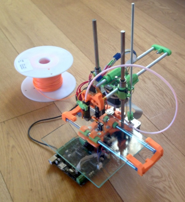 Smartrap simple 3d printer 3