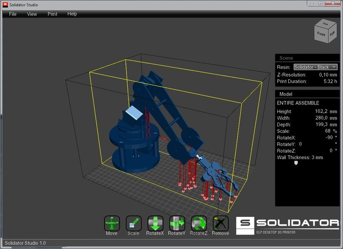 Large Solidator Dlp Desktop 3d Printer Launched On