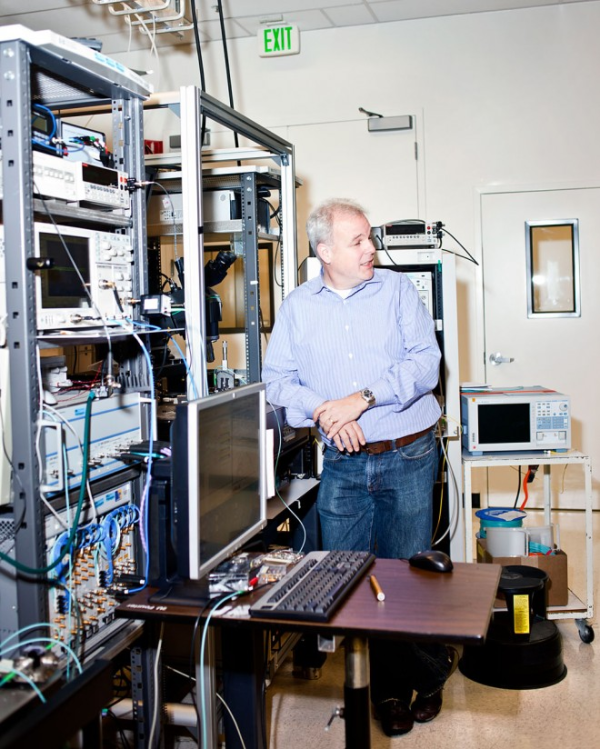 Martin Fink at HP's Photonics Lab. Photo: Ariel Zambelich/WIRED