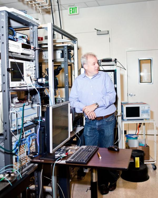 Martin Fink at HP's Photonics Lab. Photo: Ariel Zambelich/WIRED