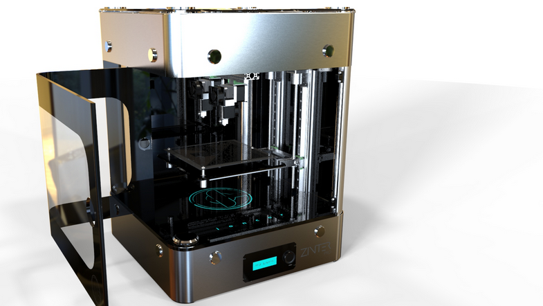 Zinter pro shows that 3d printers can be fashionable 3d for 3d printer plan