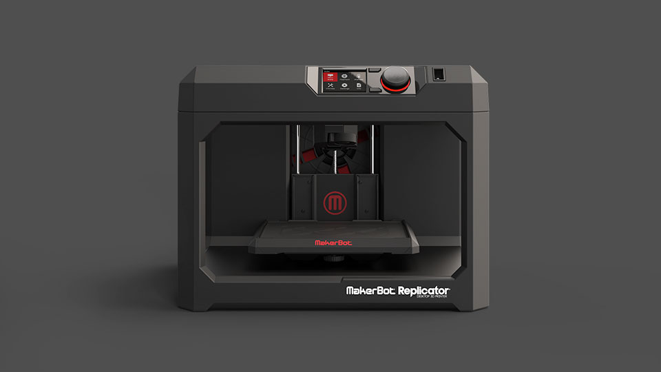 MakerBot at CES 2014 Mini Replicator Z18 2
