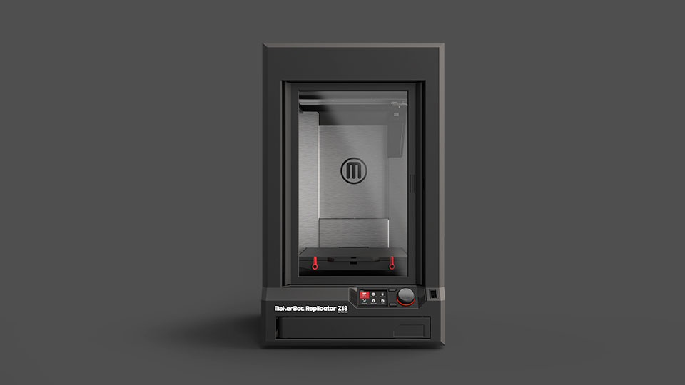MakerBot at CES 2014 Mini Replicator Z18 3