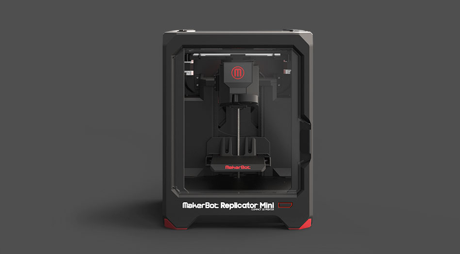 MakerBot at CES 2014 Mini Replicator Z18