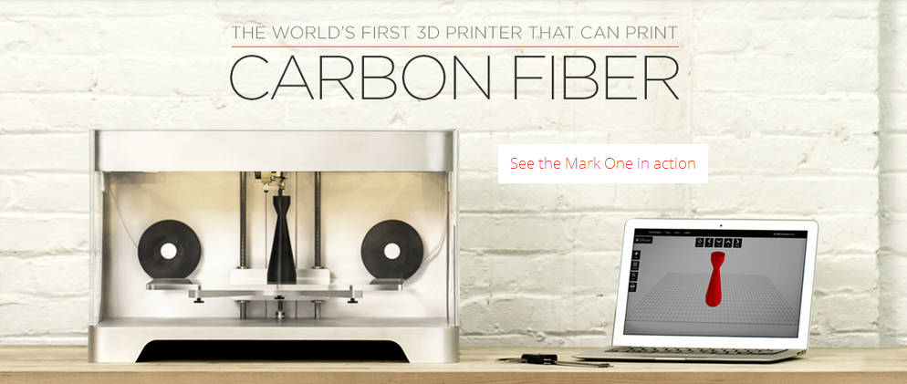 Mark One Carbon Fiber Printer 2
