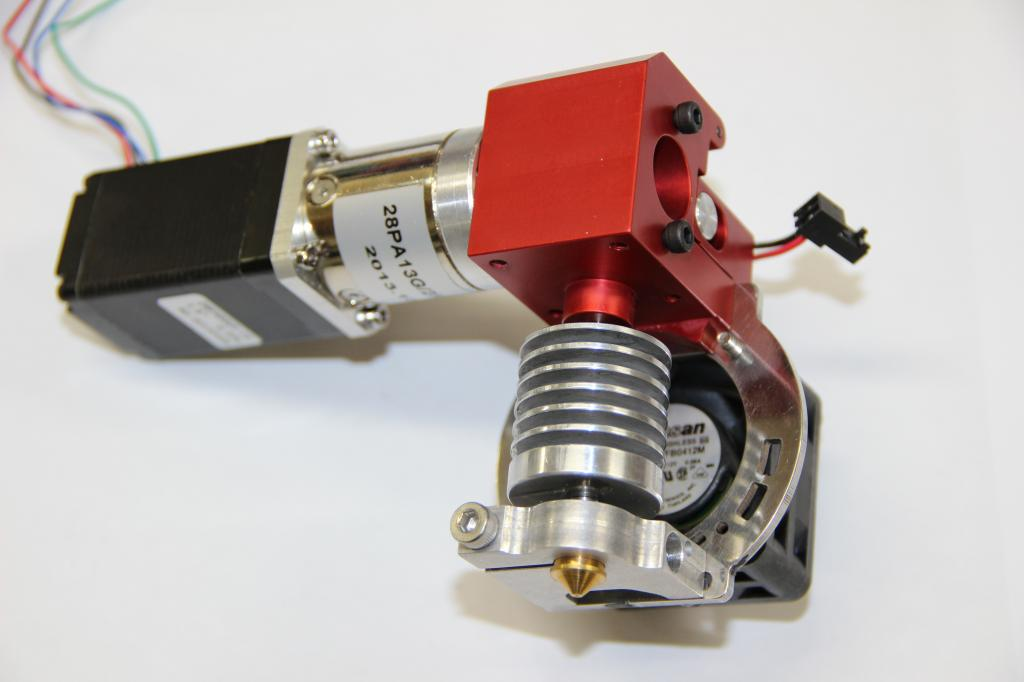 Micron all metal extruder