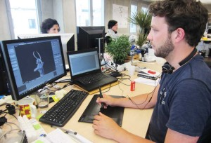Behind the scenes of a 3d printing service company
