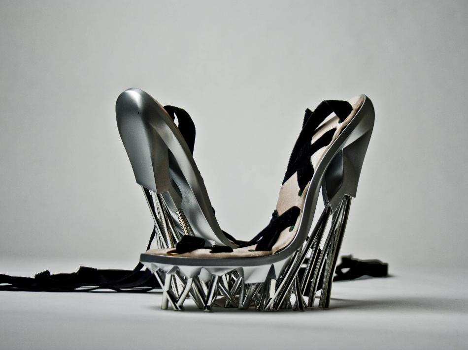 Heavy Metal Shoes 3D Printed 2