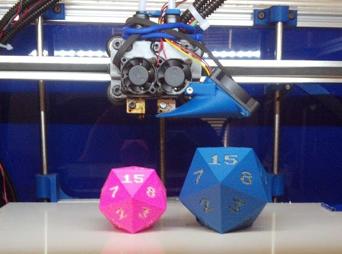 Lathon dual nozzle 3D Printer 2