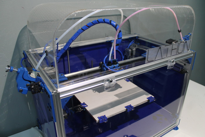 Large dual nozzle 3d printer launches on kickstarter 3d 3d printer plan