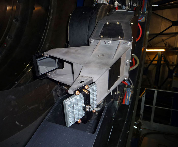 VLT sensor arm