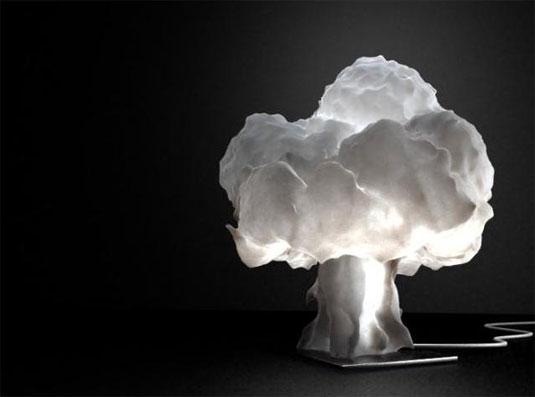 3d printed nuke lamp