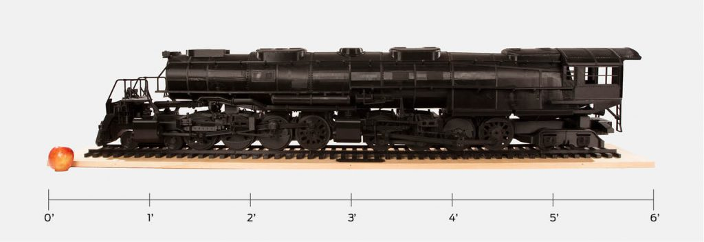 Big Boy Locomotive 3D Printed