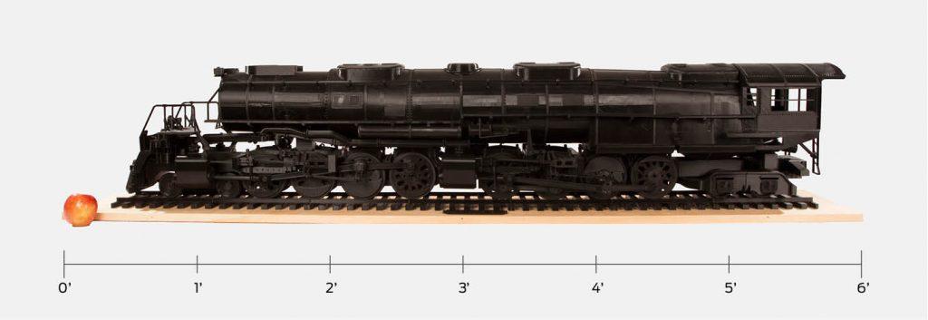 Big Boy Locomotive 3D Printed