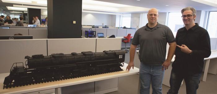 Big Boy Locomotive 3D Printed 2