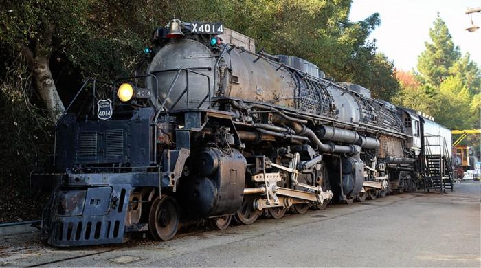 Big Boy Locomotive 3D Printed 3