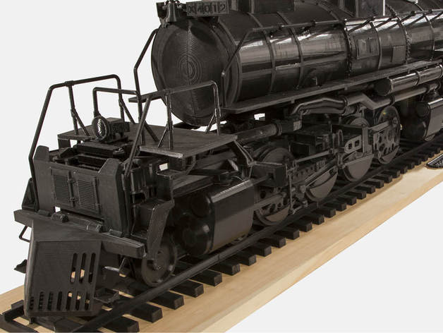 Big Boy Locomotive 3D Printed 4