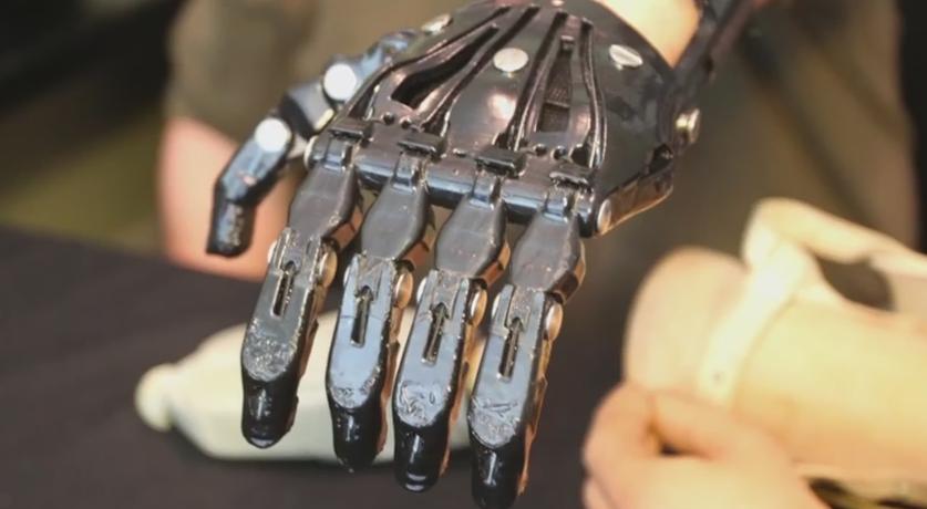Cyborg Beast 3D Printed Hand