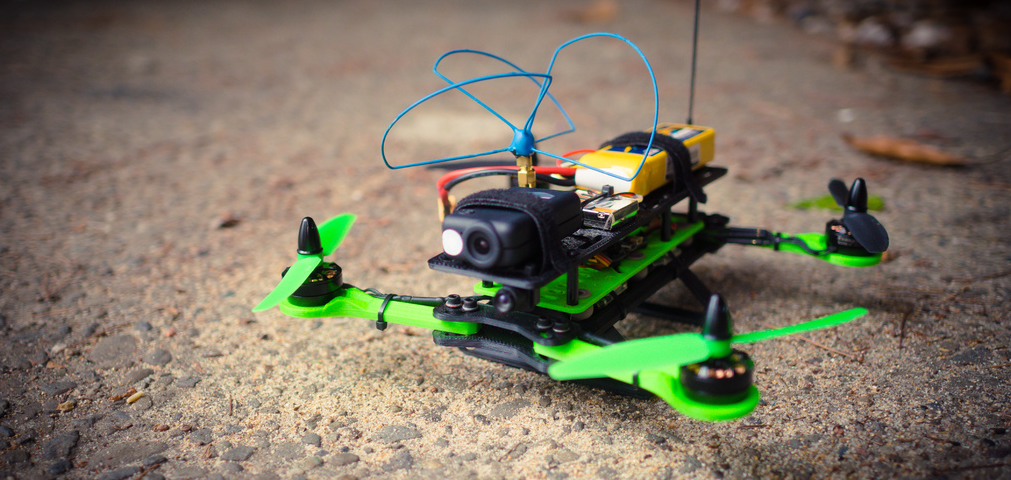 Foldable Micro H-Quadcopter - Thingiverse