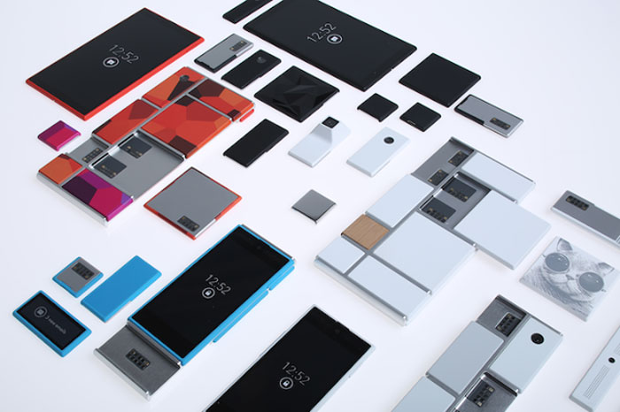 Google 3D Printed Project Ara