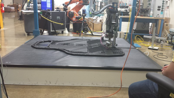 Local Motors ORNL 3D Printed Car