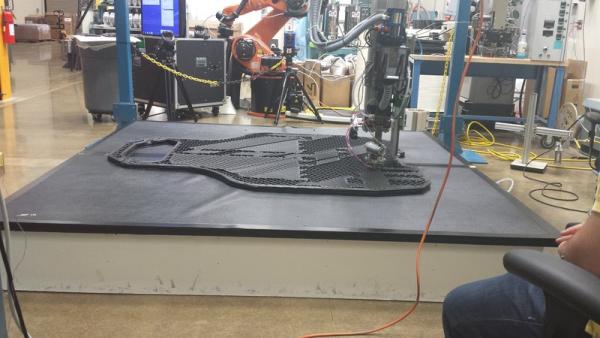 Local Motors ORNL 3D Printed Car