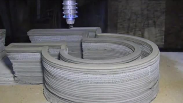 3D House Printer Construction Robot 2
