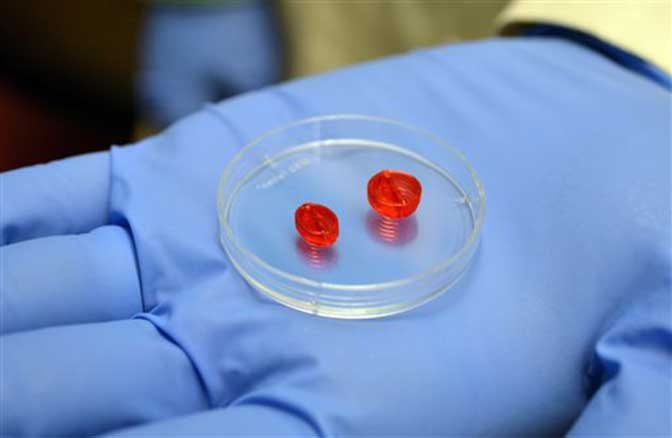 3d printed heart tissue