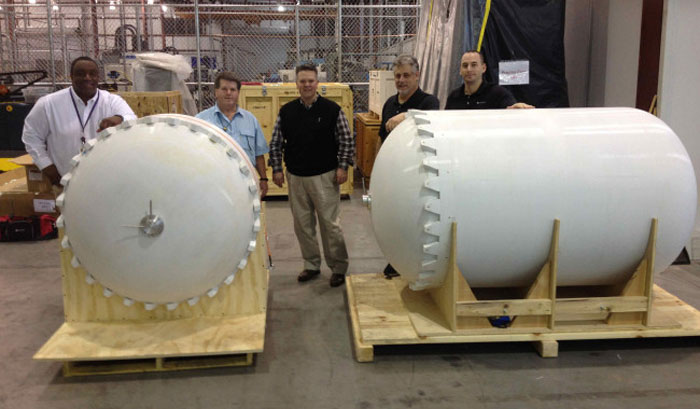 Lockheed Martin & RedEye 3D Printed Satellite Tank