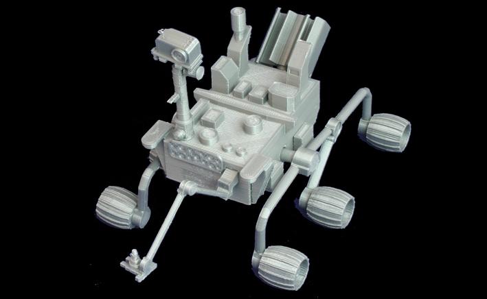 The Mars Rover, Curiosity Don Foley