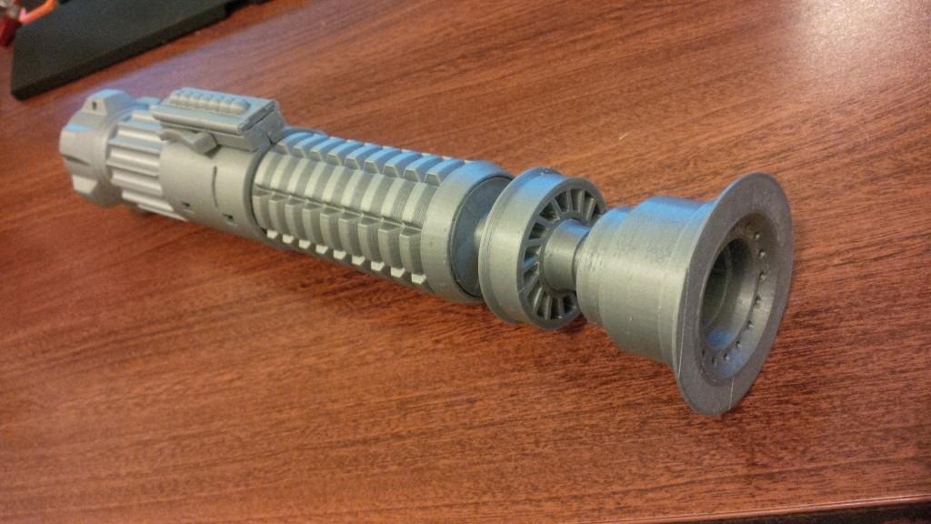 Valcrow 3D Printed Obi-Wan Lightsaber