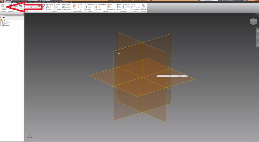 2014-06-03 20_26_33-Autodesk Inventor Basics & Extrusions Tutorial - YouTube