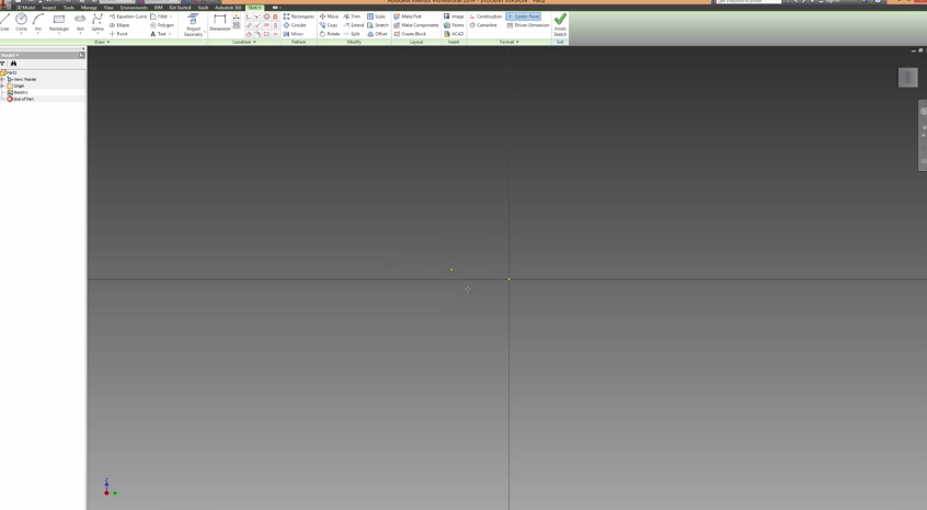 2014-06-08 20_40_53-Autodesk Inventor Basics & Extrusions Tutorial - YouTube