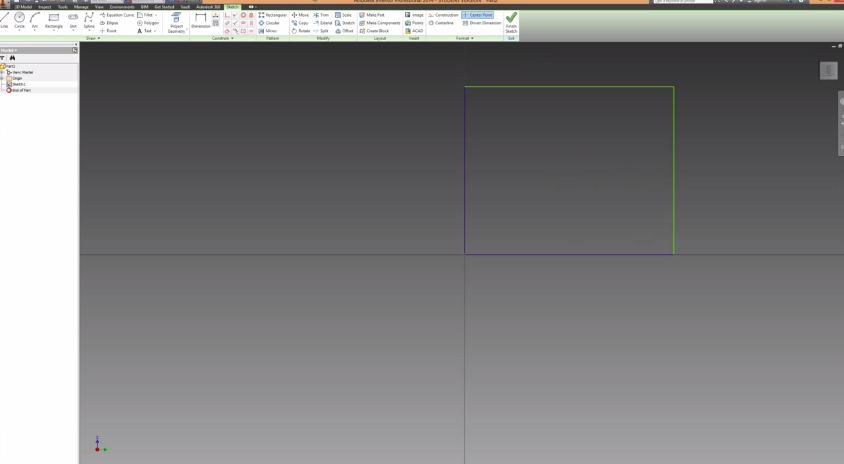 2014-06-08 20_42_20-Autodesk Inventor Basics & Extrusions Tutorial - YouTube