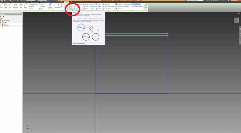 2014-06-08 20_43_51-Autodesk Inventor Basics & Extrusions Tutorial - YouTube