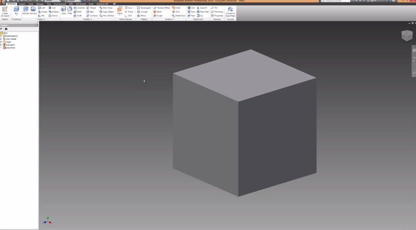 2014-06-08 20_46_46-Autodesk Inventor Basics & Extrusions Tutorial - YouTube